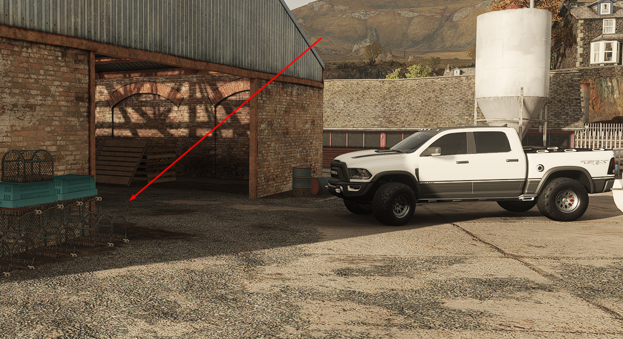 Forza Horizon 4 - All Treasures in Fortune Island Map Location - [1] - First treasure - DC6E283