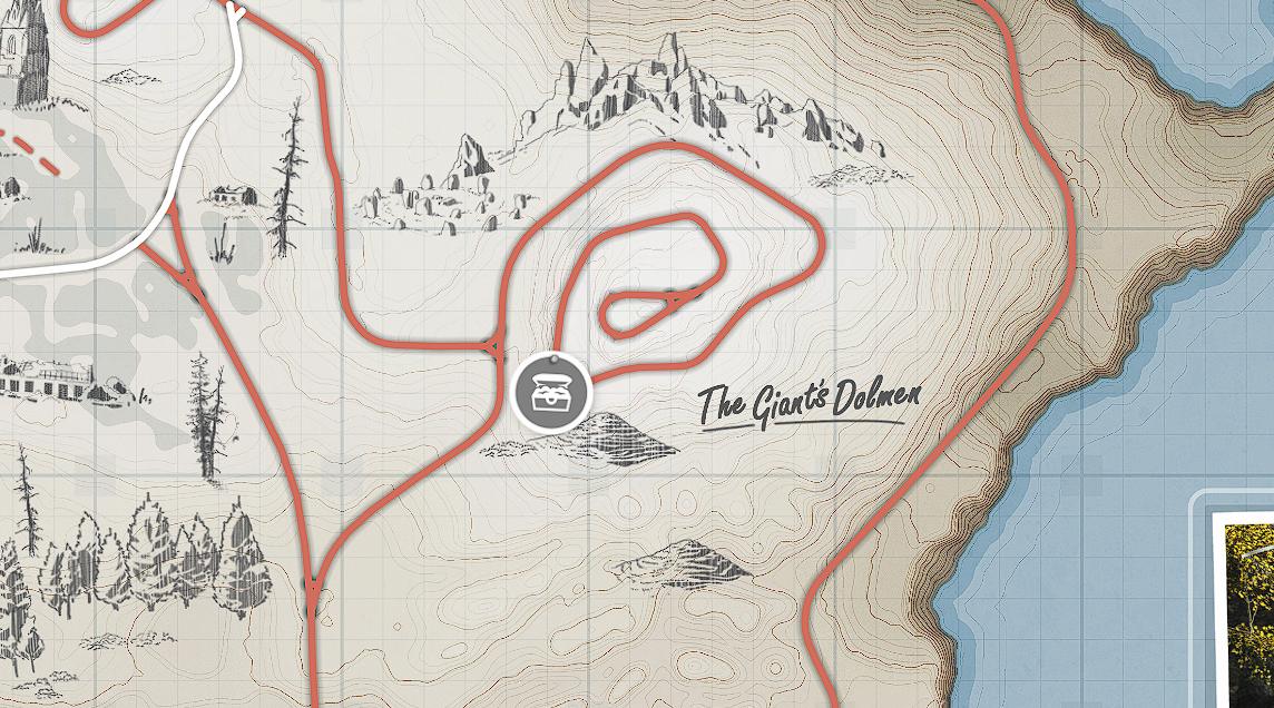 Forza Horizon 4 - All Treasures in Fortune Island Map Location - [2] - Second treasure - 7AFBA3B