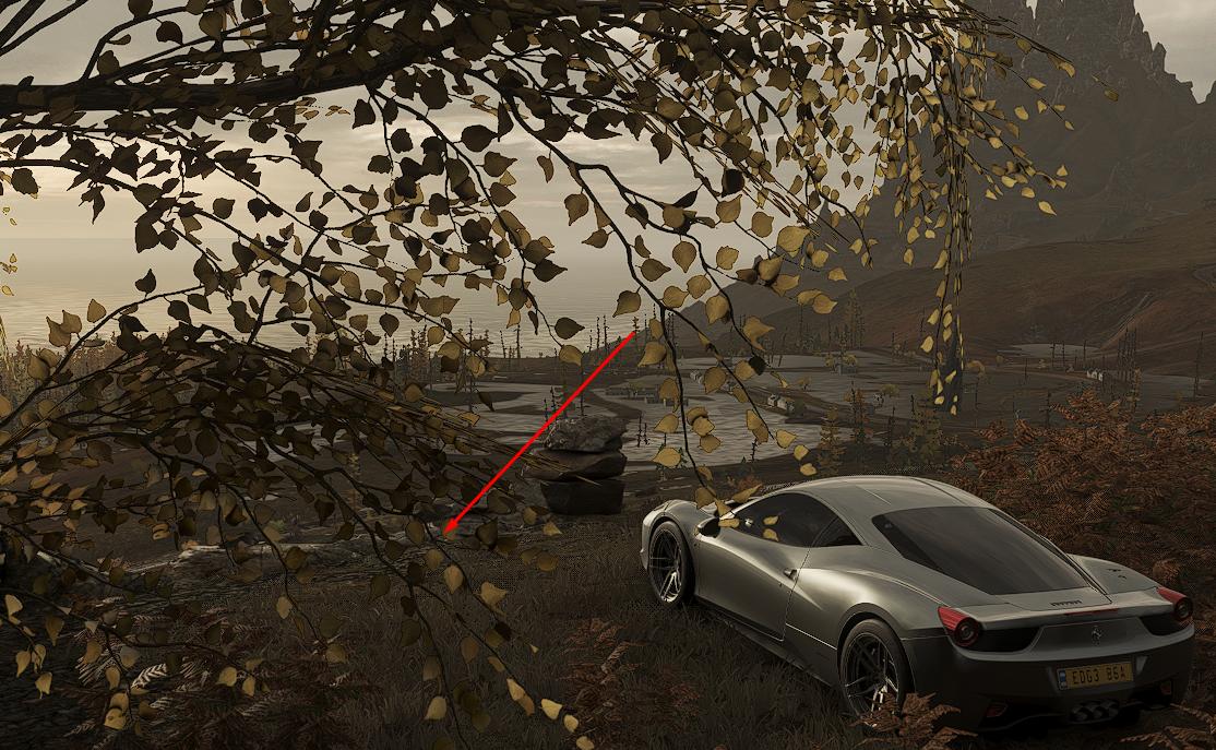 Forza Horizon 4 - All Treasures in Fortune Island Map Location - [2] - Second treasure - A91FE0B