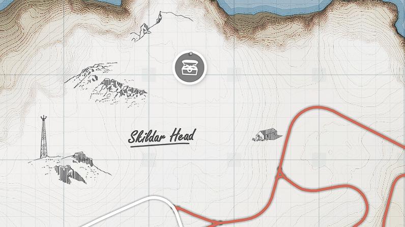 Forza Horizon 4 - All Treasures in Fortune Island Map Location - [5] - Fifth treasure - 2F06B68