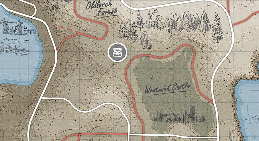 Forza Horizon 4 - All Treasures in Fortune Island Map Location - [7] - Seventh treasure - 304C686