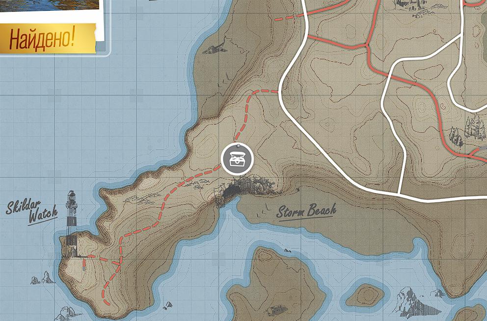 Forza Horizon 4 - All Treasures in Fortune Island Map Location - [8] - Eighth treasure - B038B23
