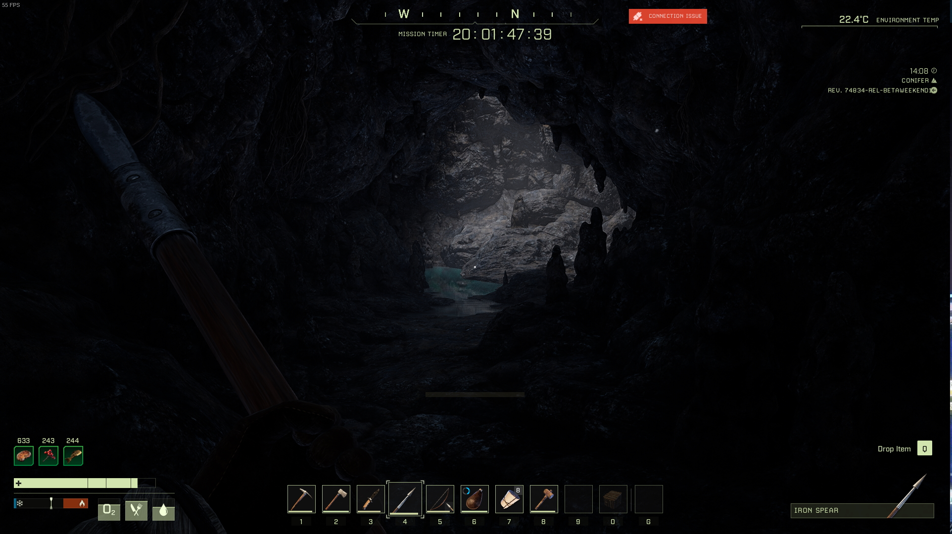 Icarus Beta - All Cave Locations Map Guide Details - Cave Images: - 7D83E18