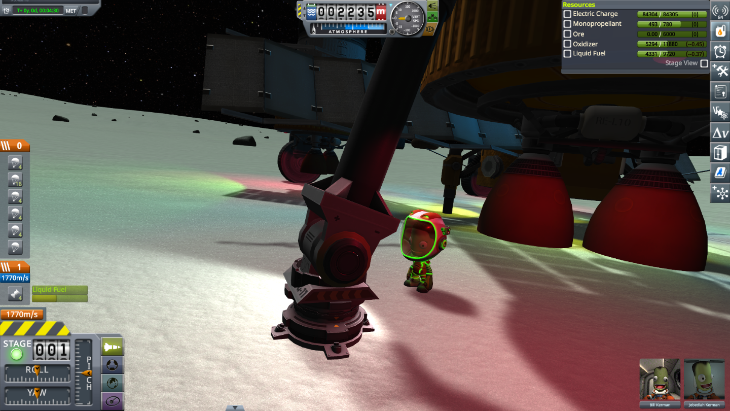 Kerbal Space Program - New Ground Clamp Uses Guide - What To Do - 5AC46DA