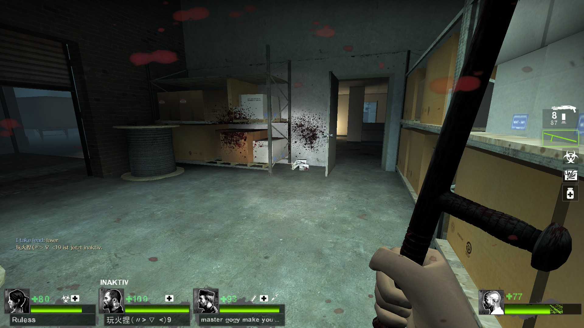 Left 4 Dead 2 - Detailed Guide for All Laser Sight Locations in Game - Map Guide - Potential spots, L4D1 maps - 149D42C