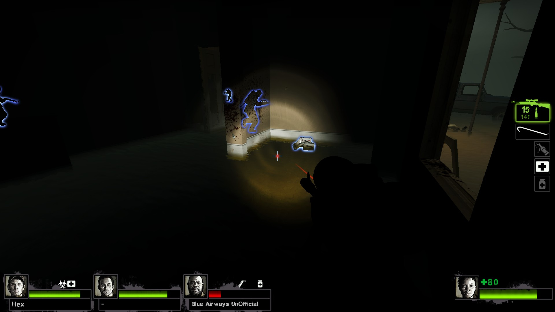 Left 4 Dead 2 - Detailed Guide for All Laser Sight Locations in Game - Map Guide - Potential spots, L4D2 maps - 387C079