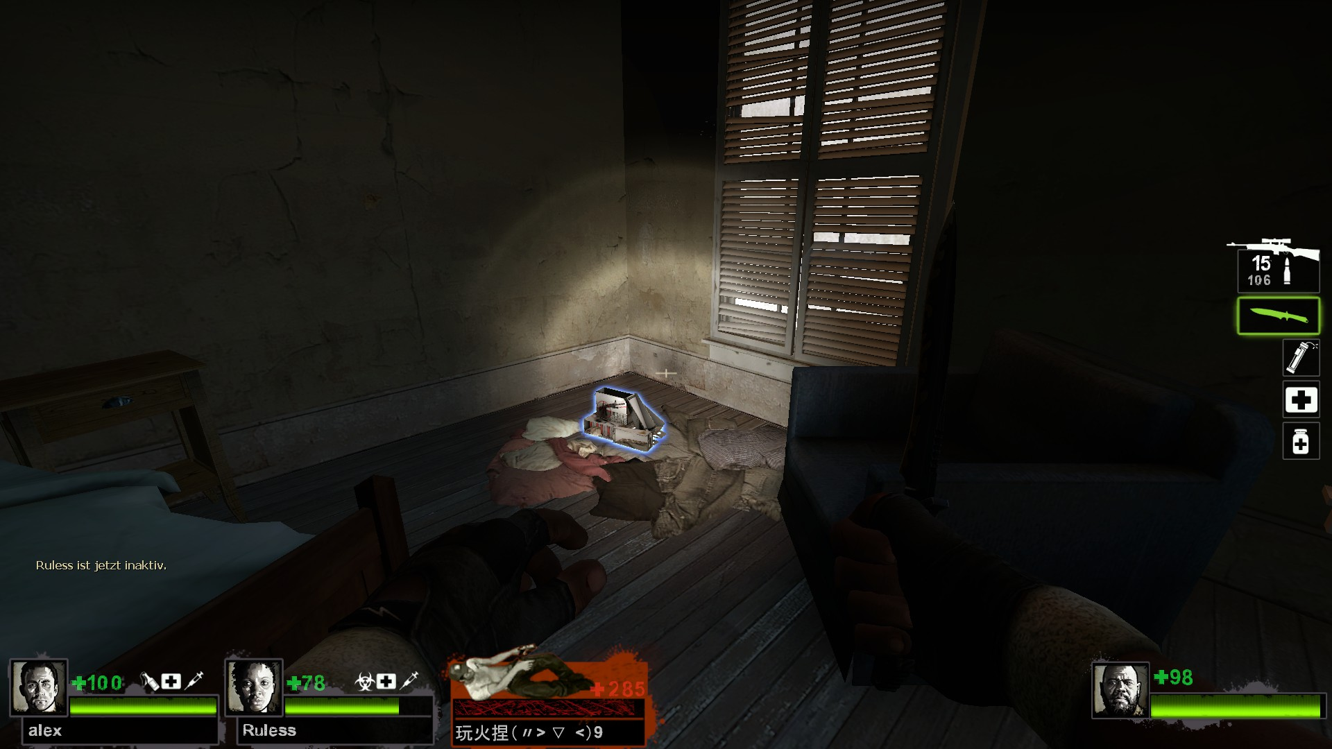Left 4 Dead 2 - Detailed Guide for All Laser Sight Locations in Game - Map Guide - Potential spots, L4D2 maps - 92B254E