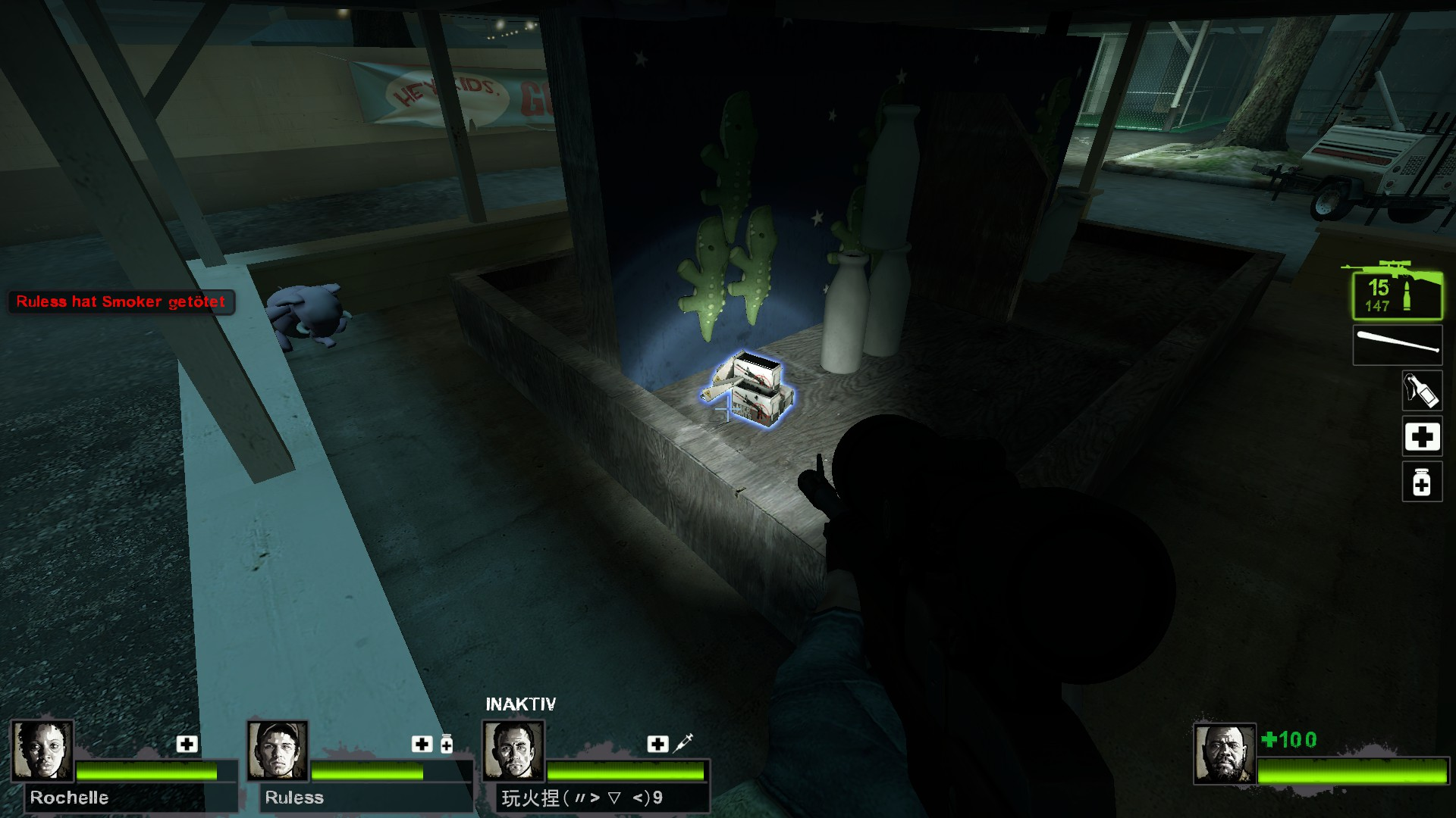 Left 4 Dead 2 - Detailed Guide for All Laser Sight Locations in Game - Map Guide - Potential spots, L4D2 maps - 972B473
