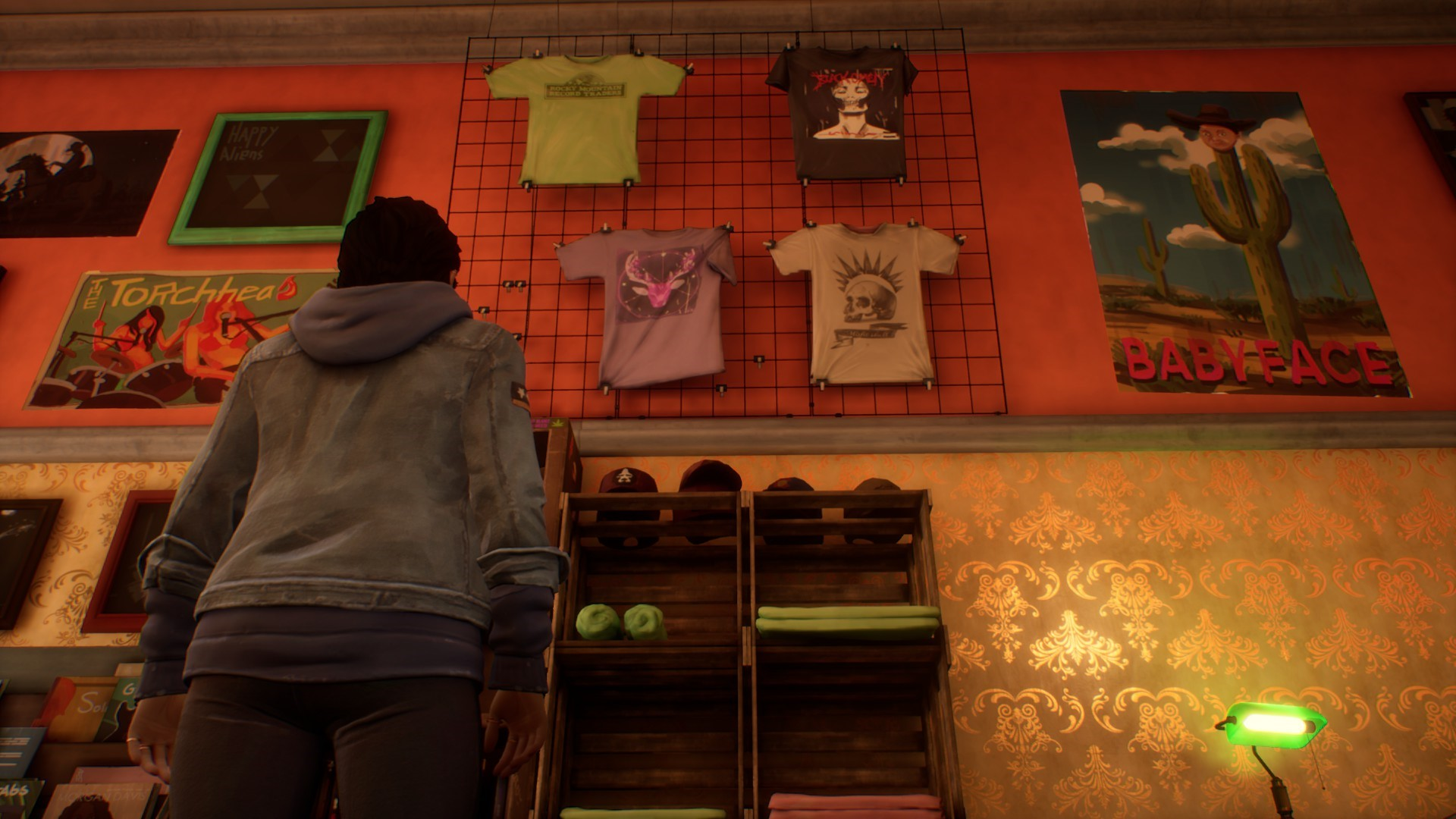 Life is Strange: True Colors - Guide to Easter Eggs in Game & Secrets - Chloe's shirt - 87DCAE4