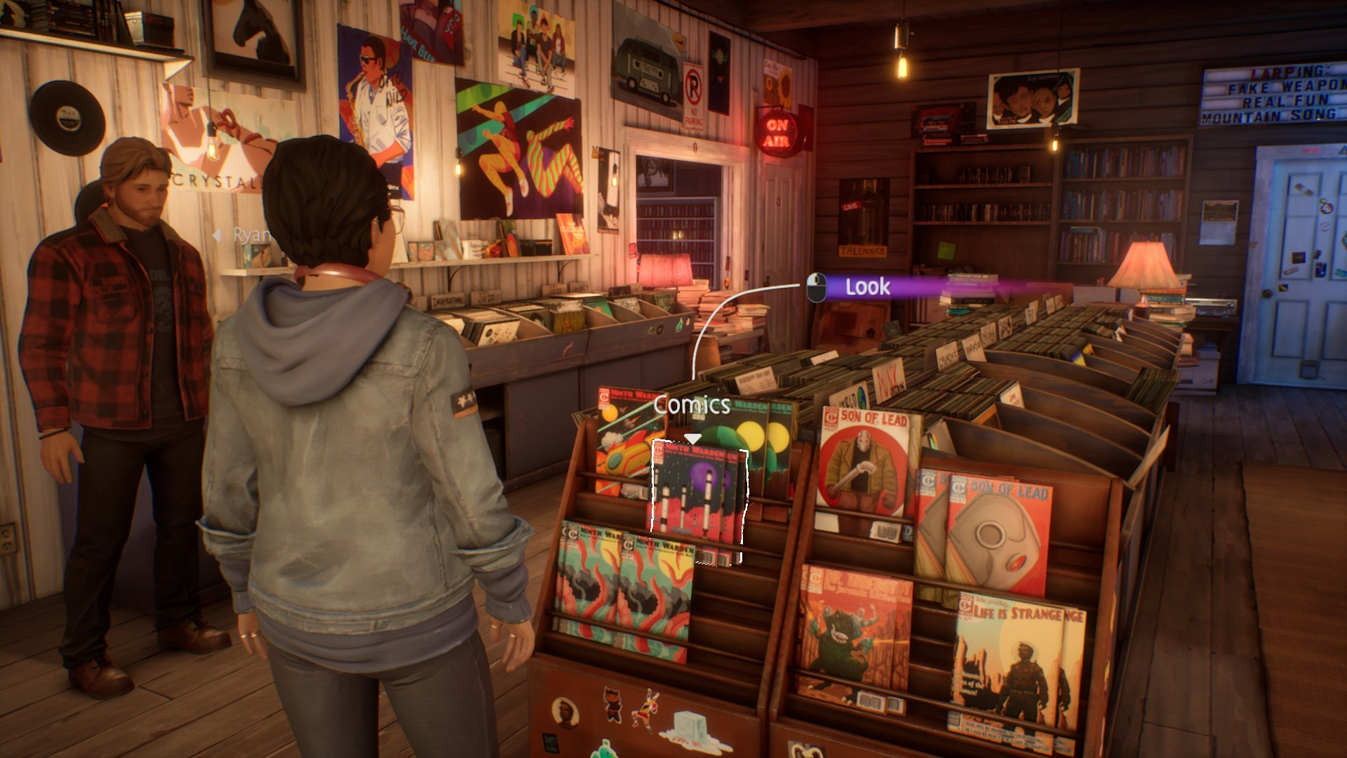 Life is Strange: True Colors - Guide to Easter Eggs in Game & Secrets - Comics - 91D72B3