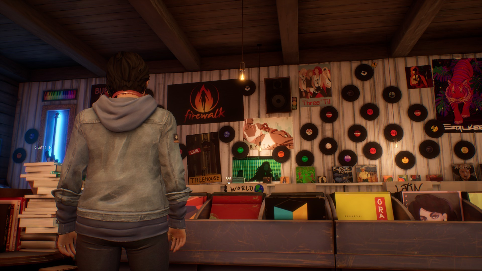 Life is Strange: True Colors - Guide to Easter Eggs in Game & Secrets - Firewalk band posters - CA25256
