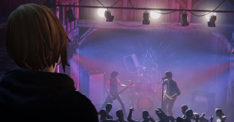 Life is Strange: True Colors - Guide to Easter Eggs in Game & Secrets - Firewalk band posters - EAC8688
