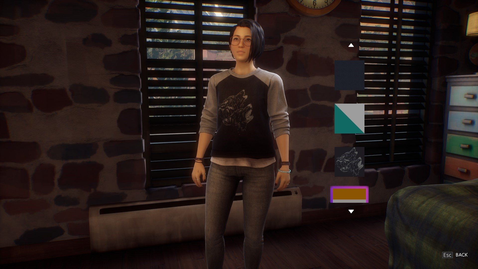 Life is Strange: True Colors - Guide to Easter Eggs in Game & Secrets - Wolf Sweater - 63498DF