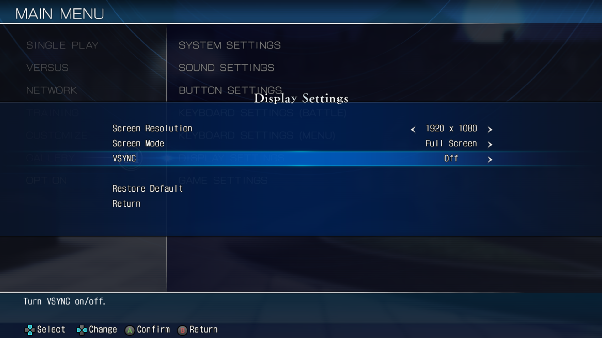 MELTY BLOOD: TYPE LUMINA - Game Settings - Fix VSYNC - Game Speed Guide - Solution - A91C3A7