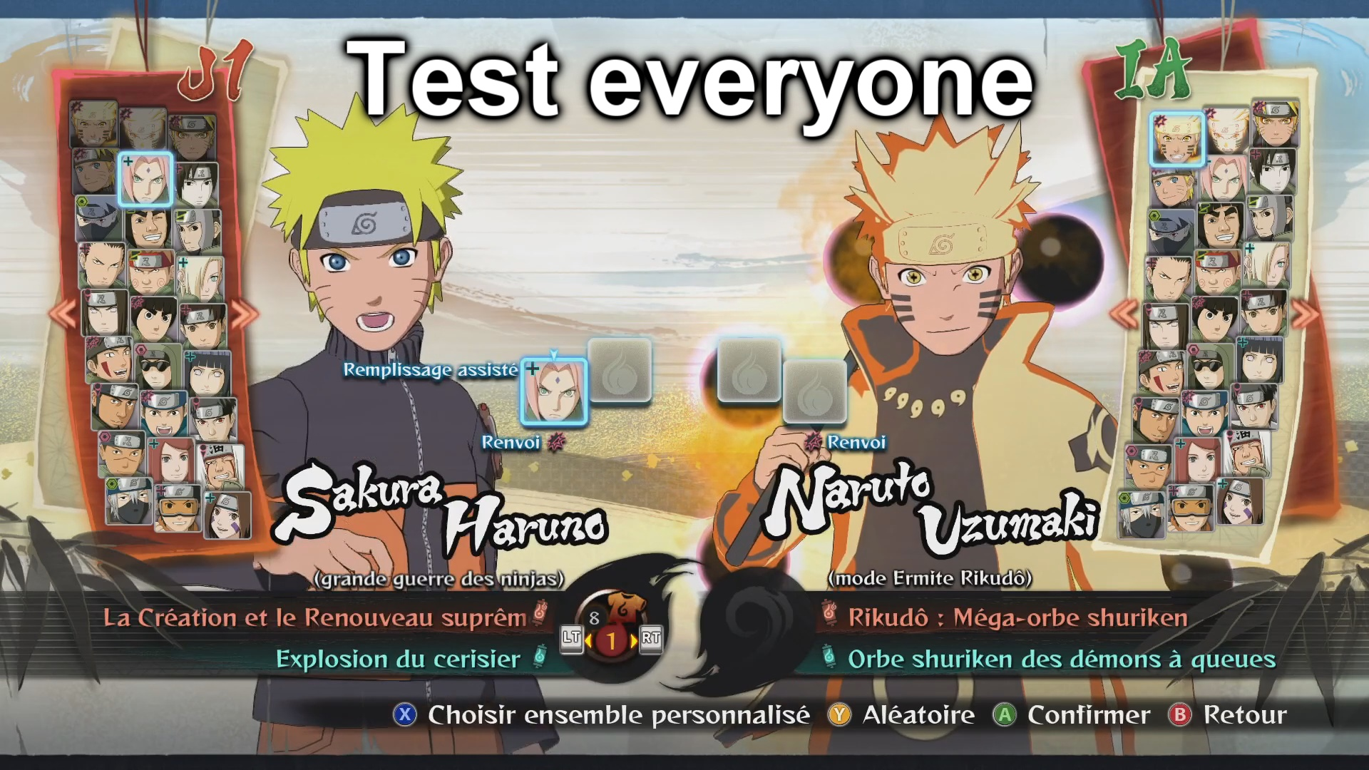 NARUTO SHIPPUDEN: Ultimate Ninja STORM 4 - Full Guide for New Players - Gameplay Tips - ▶️ Characters - CE5CF63