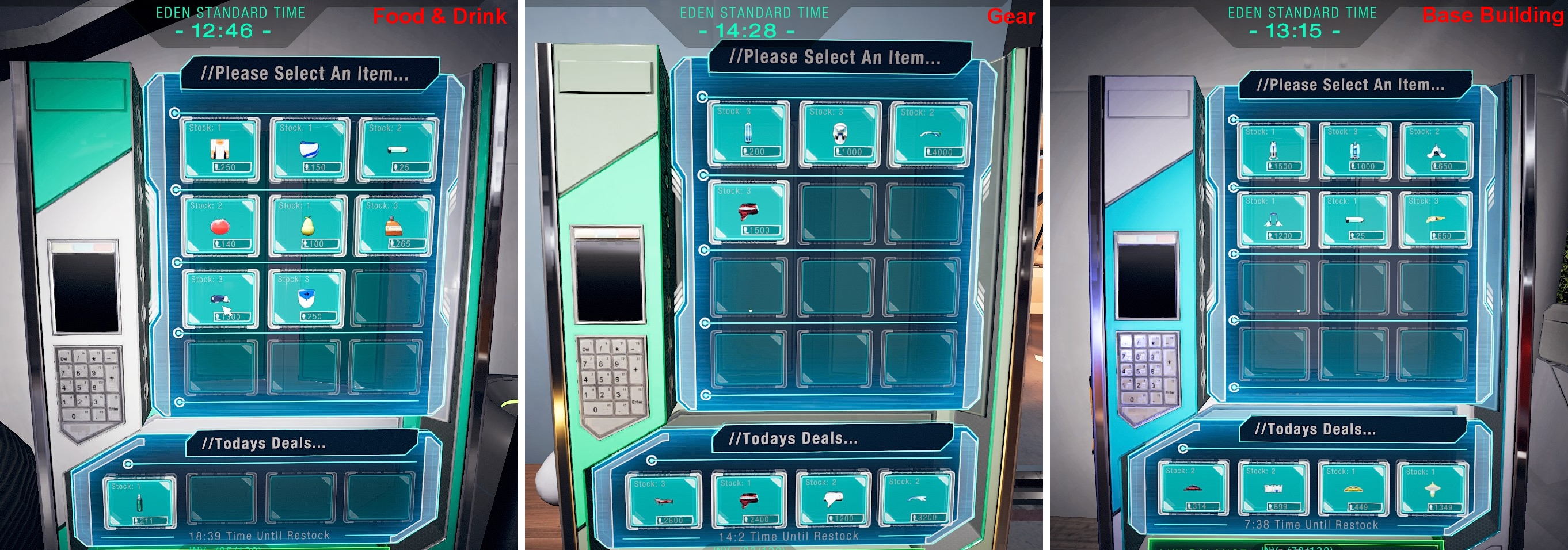 P.A.M.E.L.A. - Ultimate Guide and Basic Gameplay Tips - Kiosks Colors and Buying - 98793DE