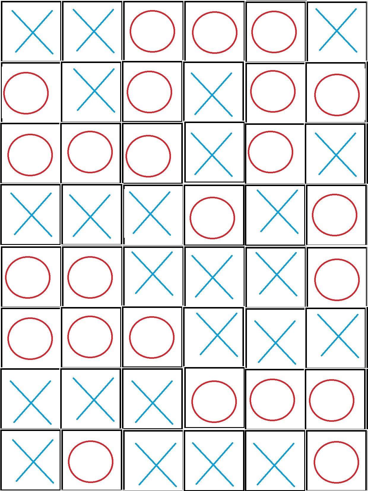 Pathfinder: Wrath of the Righteous - Puzzle Solution Tips for Enigma - Playthrough - Puzzle 1: Tic Tac Toe - FEAFCDF