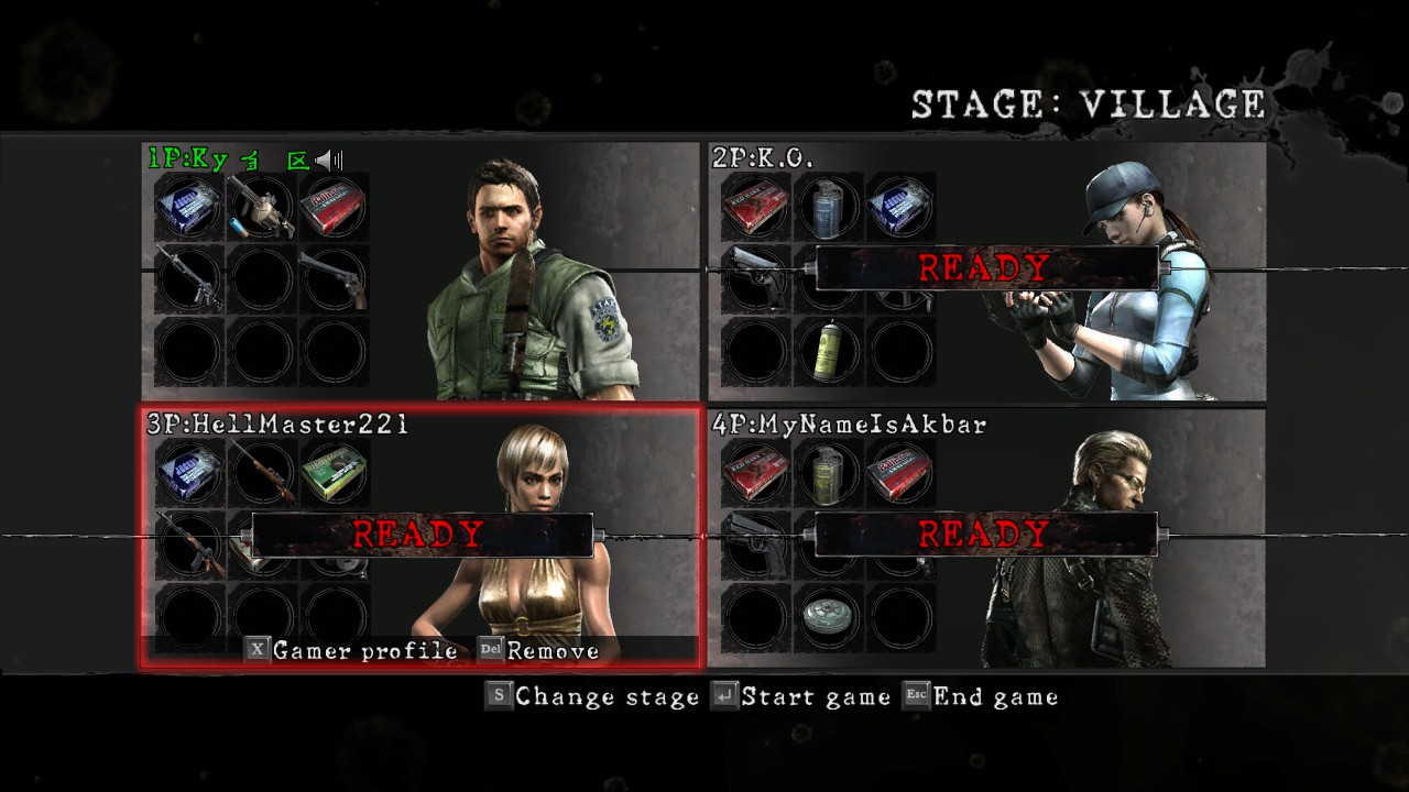 Resident Evil 5 - How to Play with 4 Players in Game Tutorial - Screenshot - 0FEEB25