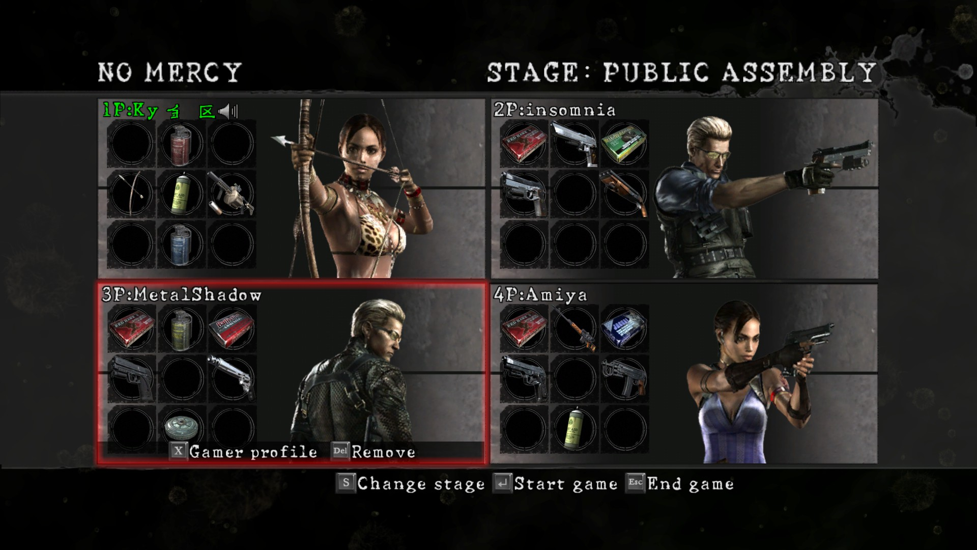 Resident Evil 5 - How to Play with 4 Players in Game Tutorial - Screenshot - 8DC562C
