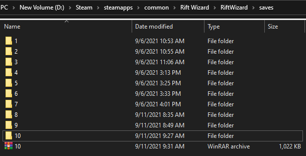 Rift Wizard - Guide on How to Make Backup Save File Tutorial - Save Scumming - CB1324C