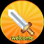 Roblox Anime Artifacts Simulator - Badge Welcome