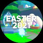 Roblox Anime Fighting Simulator - Badge Easter 2021