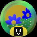 Roblox Bee Swarm Simulator - Badge Blue Flower Grandmaster