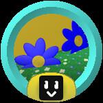 Roblox Bee Swarm Simulator - Badge Blue Flower Master