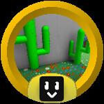 Roblox Bee Swarm Simulator - Badge Cactus Ace