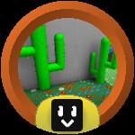 Roblox Bee Swarm Simulator - Badge Cactus Cadet