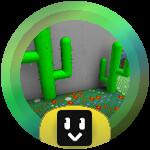 Roblox Bee Swarm Simulator - Badge Cactus Grandmaster