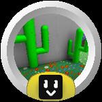 Roblox Bee Swarm Simulator - Badge Cactus Hotshot