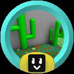 Roblox Bee Swarm Simulator - Badge Cactus Master