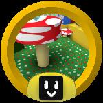 Roblox Bee Swarm Simulator - Badge Mushroom Ace
