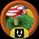 Roblox Bee Swarm Simulator - Badge Mushroom Cadet