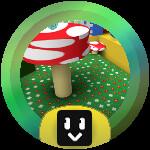 Roblox Bee Swarm Simulator - Badge Mushroom Grandmaster