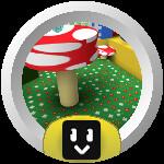 Roblox Bee Swarm Simulator - Badge Mushroom Hotshot