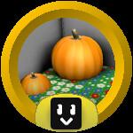 Roblox Bee Swarm Simulator - Badge Pumpkin Ace