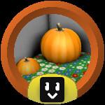 Roblox Bee Swarm Simulator - Badge Pumpkin Cadet