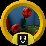 Roblox Bee Swarm Simulator - Badge Rose Ace