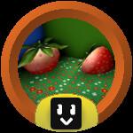 Roblox Bee Swarm Simulator - Badge Strawberry Cadet