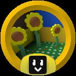 Roblox Bee Swarm Simulator - Badge Sunflower Ace