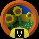 Roblox Bee Swarm Simulator - Badge Sunflower Cadet