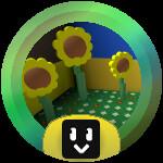 Roblox Bee Swarm Simulator - Badge Sunflower Grandmaster