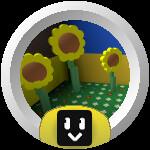 Roblox Bee Swarm Simulator - Badge Sunflower Hotshot