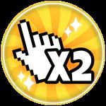 Roblox Clicking Havoc - Shop Item X2 Clicks!