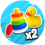 Roblox Grow Up Simulator - Shop Item x2 Toys