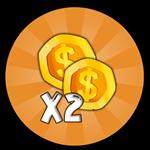 Roblox Happy Simulator 2 - Shop Item x2 Coins