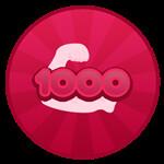 Roblox Hatman Simulator - Badge 1000 Power