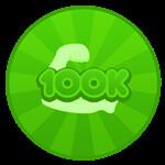 Roblox Hatman Simulator - Badge 100k Power